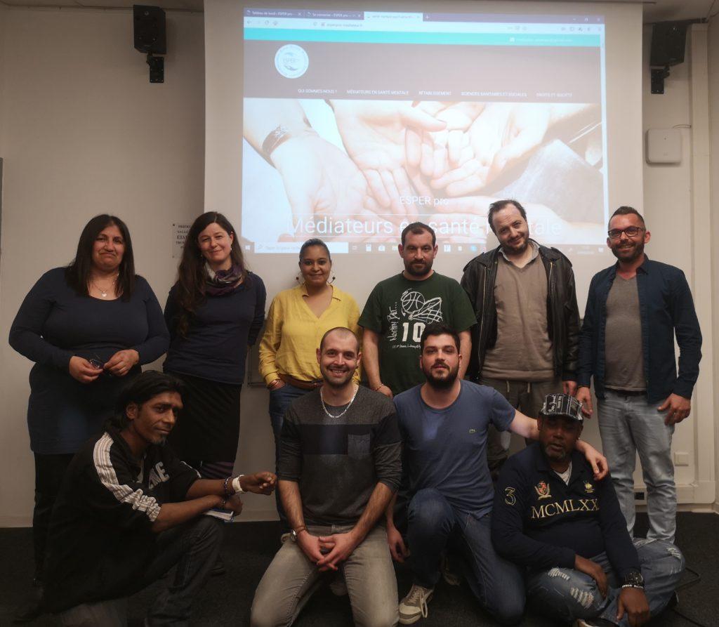 Photo des membres de l'association ESPER Pro